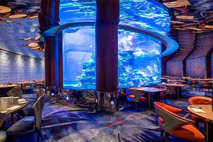 Dinner in Al Mahara Restaurant - Burj Al Arab