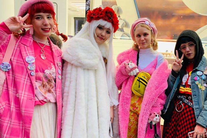 Harajuku Colourful Tour: food, drinks and sweets