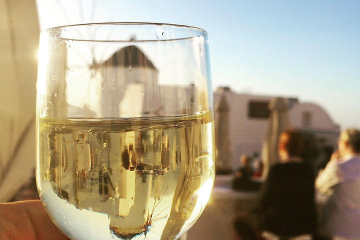 Santorini Wine Tour with sunset in Oia