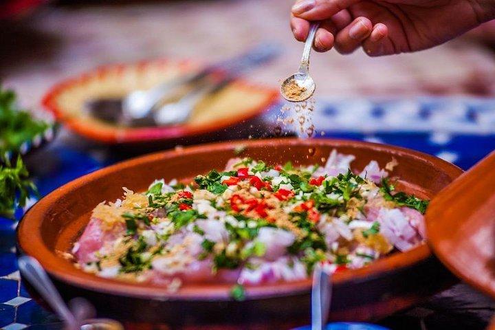 Moroccan cooking workshop in Marrakech