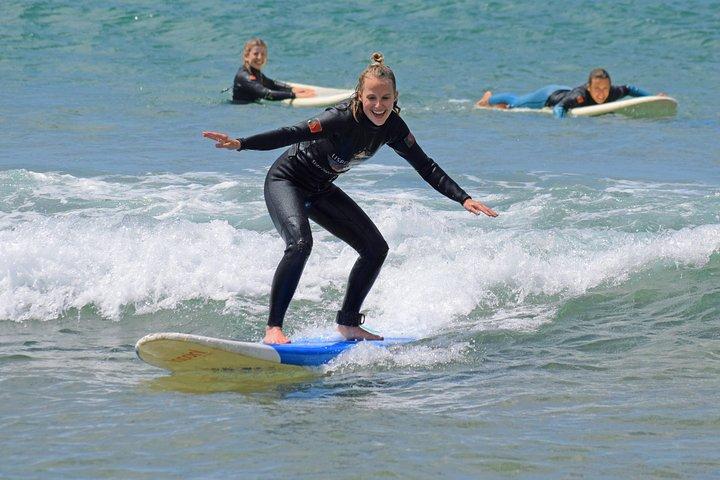 Learn surfing!