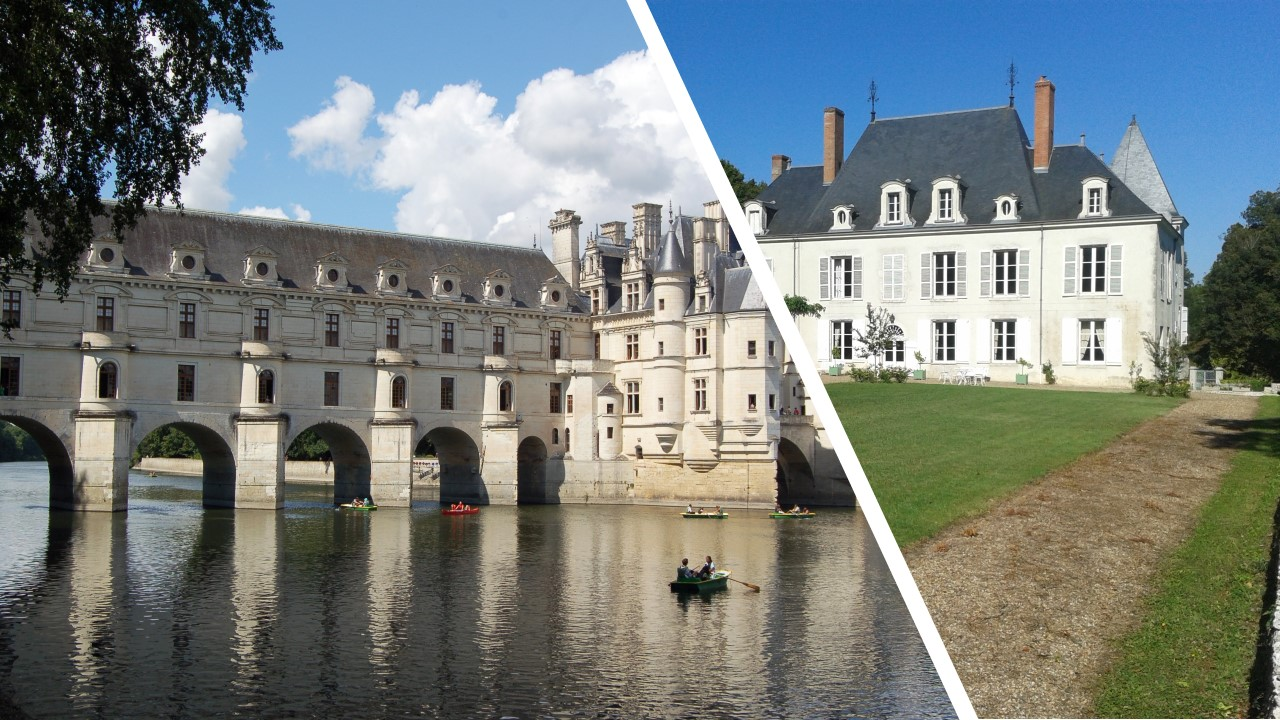 PRIVATE LUNCH WITH THE OWNERS OF A CASTLE while visiting Chambord and Cheverny