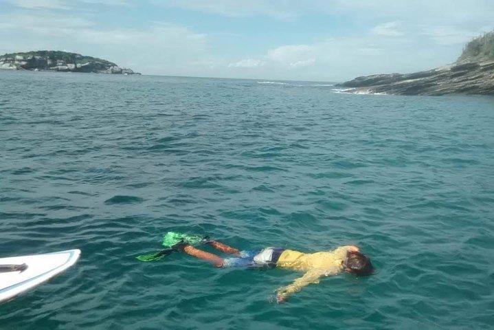 Enjoy snorkelling