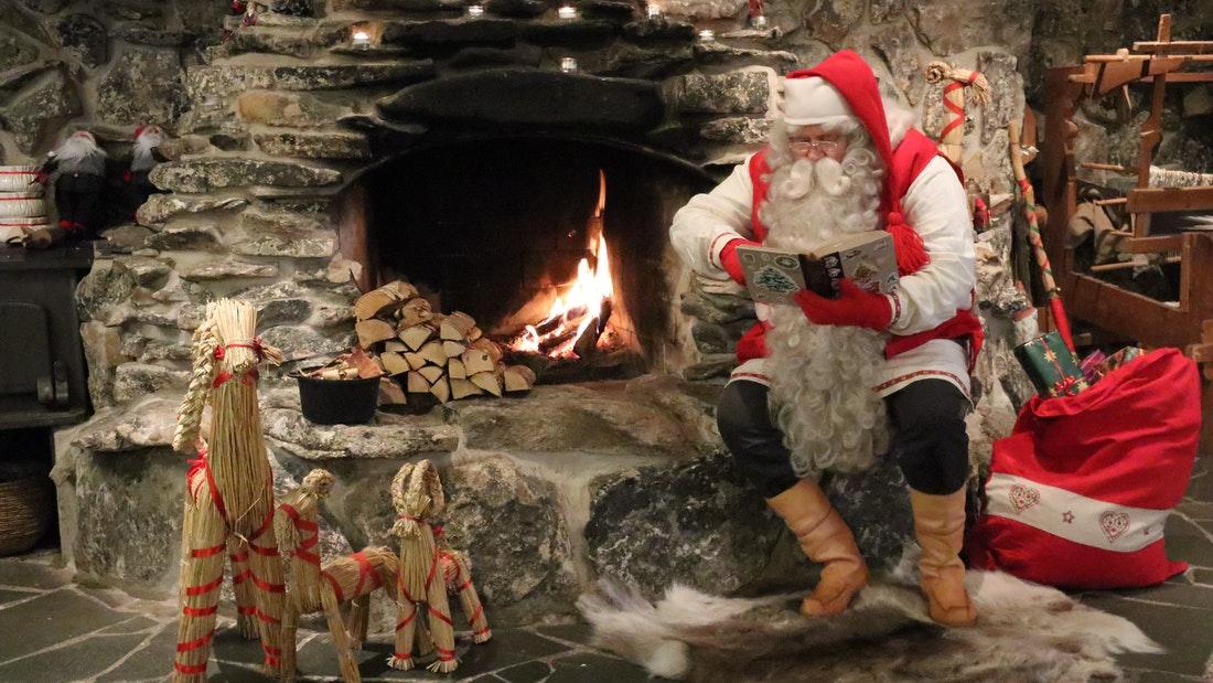 Elves kingdom and Santa Claus workshop