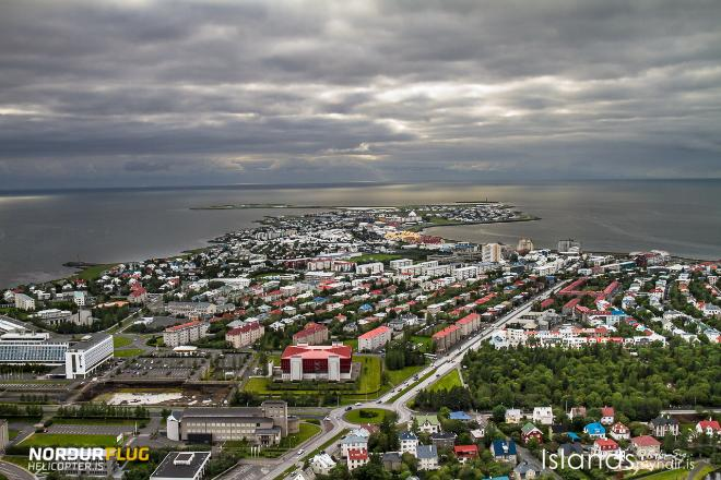 Reykjavik by Air Helicopter Tour