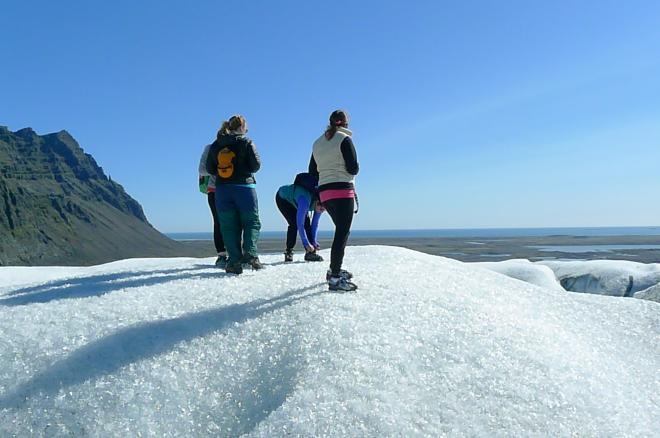 Glacier hike - South Coast Iceland