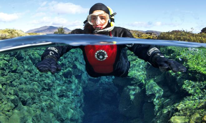 Snorkeling Silfra & Blue Lagoon Combo Tour