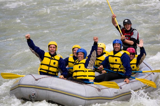 Snowmobile & River Rafting
