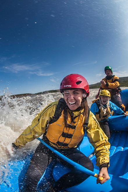 Rafting & Snowmobiling