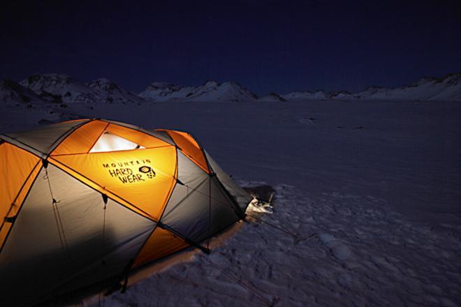 Arctic Glacier Camp