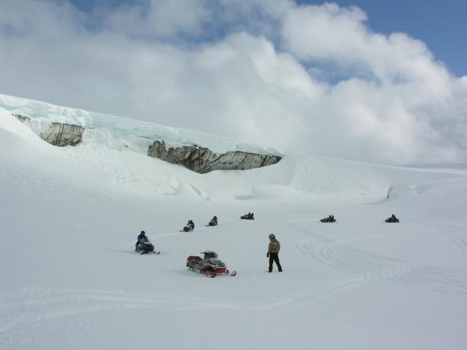 Glacier Snowmobile tour from Reykjavík